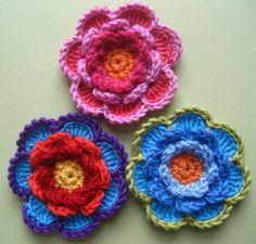 Crochet Flowers from Attic 24