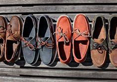 Dockside boat shoes.