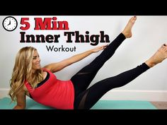 5 Minute Outer Thigh Workout - YouTube