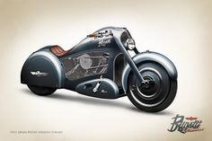 Atlantico Motorcycle Concept by Tamás Jakus, via Behance