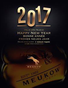 Happy New Year from Meukow Cognac