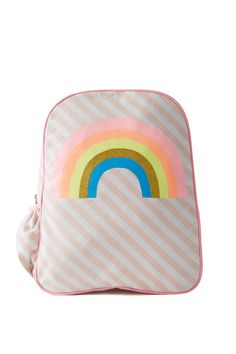 Our cotton canvas Day One Back Pack is large enough to hold our Carry Me A4 Notebook.Backpack also has a side pocket to securely hold a water bottle.Dimensions: 37m High, 31cm wide, 9cm side width.