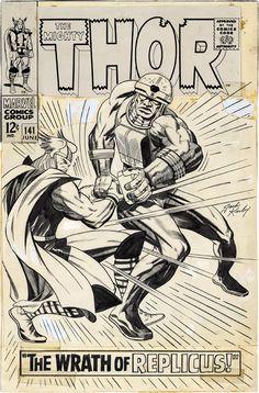 Thor #141 alternate cover artwork