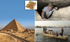 Archaeologist discover how the Great Pyramid of Giza was built #DailyMail