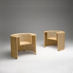 Buy online Charlotte By casamania & horm, woven wicker easy chair design Mario Botta, midollino Collection