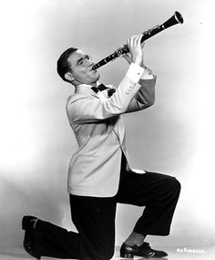 Used to watch a movie of him as a kid; which is weird for an 7 year-old but hey, I played the Clarinet! ;] 'The Real Benny Goodman'