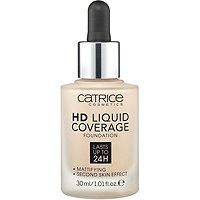 Catrice - Online Only HD Liquid Coverage Foundation in Light Beige 010 #ultabeauty