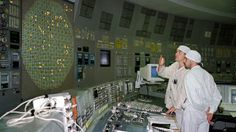 Engineers at Chernobyl test a reactor's control panel in March 1986, about a month before one of the plant's four reactors failed, leading the worst nuclear disaster of all time.