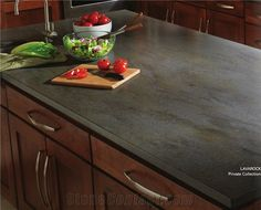 Schon Lavarock Corian Solid Surface Kitchen Countertop