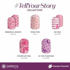 Jamberry have launched a new charity collection – #TellYourStorythat is close to many of our hearts – to raise funds for Breast Cancer research. This disease, like all cancer, has impacted so many people we love and care for and … Continued