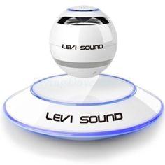 【浮遊するスピーカー】LEVI SOUND/レビサウンド/ホワイト