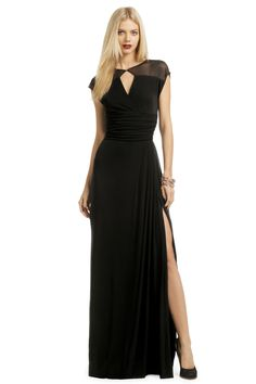 Badgley Mischka Meshing Around Gown