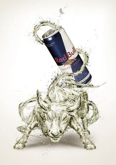 Red Bull New Print Campaign | Hunie