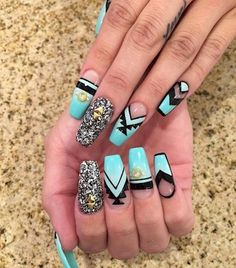 5. These nails are beautiful!