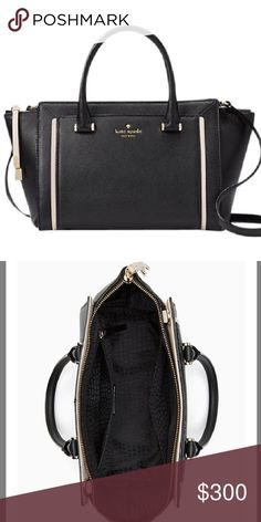 "NWT KATE SPADE GARRETT STREET SMALL ORLEY Brand new, with no defects. Measurements 10""Lx7.2""Hx6.5""W .. Color black/pumice. With strap rouse as a satchel.  Any questions ask below. kate spade Bags Satchels"