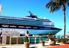 Celebrity Century at Mallory Square dock in Key West