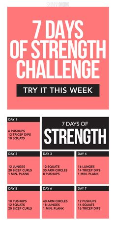 Can you complete this strength workout challenge for women?