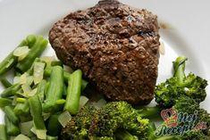 Hovězí steak se zeleninou | NejRecept.cz