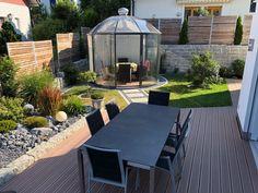 Luxus Gartenpavillon Rondo VG & VK & VP | Garten-Heinemann Harry Potter, Patio, Outdoor Decor, Home Decor, Home Architecture, Future, Decorating Ideas, Luxury, Decoration Home