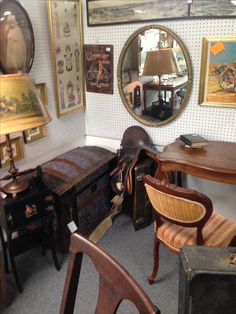 Current photo of our booth at Ontario Antiques Mall Rochester