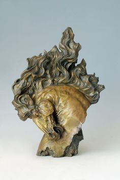 Pure Bronze Horse Bust sculpture Big bronze animal head  statue  anitque  gifts Home Decoration