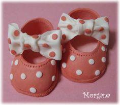 gumpaste shoes for babies