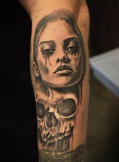 tattoo by Tomek Machon