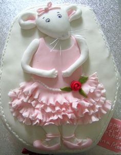 Inspiration for a Ballet Theme Cake, Novelty Cakes. www.sweetsecretsdubai.com
