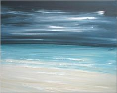 """Ocean Front""      http://www.etsy.com/listing/52681503/coastal-modern-landscape-tropical-art?ref=sr_gallery_33sref=ga_search_submit=ga_search_query=ocean+sea+paintingga_view_type=galleryga_ship_to=USga_page=2ga_search_type=handmadega_facet=handmade"