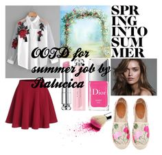 OOTD by Ralucica by ralucica-andreea on Polyvore featuring Christian Dior