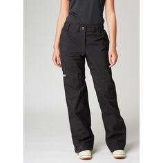 This packable shell pant  for women folds neatly into its own pocket, making it easy to store for unexpected weather.