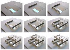 Casa Hemeroscopium By Ensamble Studio – model 01 Studios Architecture, Creative Architecture, Amazing Architecture, Contemporary Architecture, Architecture Models, Rem Koolhaas, Precast Concrete, Concrete Art, Dream Home Design