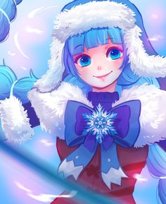 A lot have been wanting to see a ruby art from me. So Merry Christmas! Here is another gift~ Enjoy your Christmas eve Anime Neko, Manga Anime, Ruby Anime, Moba Legends, Anime Wallpaper Live, Legend Games, Mobile Legend Wallpaper, Space Painting, Anime Girl Cute