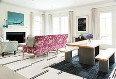 Gwyneth Paltrow's Family Room - After