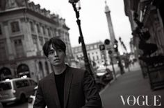 Lee Dong Wook for Vogue. Paris 1.10.17