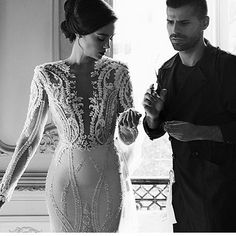 Brides who can't afford a haute couture wedding gown can have us make a custom design that inspired by the couture piece that will look very close to the original but cost way less. If you are shopping for long sleeve #weddingdresses or are in need of a #replica of a couture design contact us directly at www.dariuscordell.com