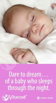 Sleeping Through the Night (A New Mom's Dream)