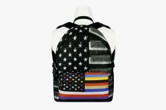Givenchy Spring 2014 All-Over Print Backpacks
