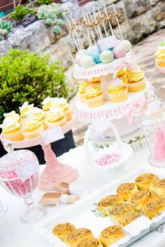Shabby Chic Vintage High Tea Party - Bridal Shower