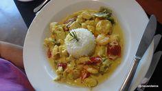 Thai Chicken and Praws @ Tumulus Restaurant, South Africa