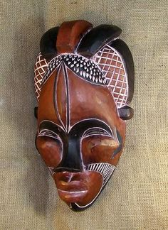 African mask of the Tikar people from Cameroon