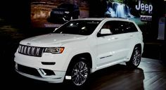 2017 Jeep Grand Cherokee Summit Release Date