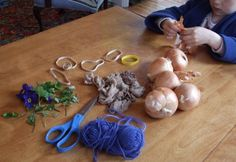 From Beth Curtin: Natural Egg Dyeing