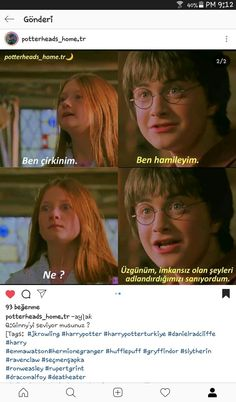 Harry Potter Cast, Harry Potter Love, Harry Potter Memes, Harry Potter Hogwarts, Comedy Pictures, Funny Pictures, Best Caps, Rupert Grint, Ginny Weasley