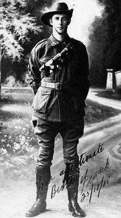 WW1. Pozieres, 23 July 1916, Frank H McCurrie killed. 3rd Field Company, Australian Engineers. © IWM ( HU 117387):