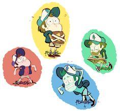 forosha: Dipper color studies!