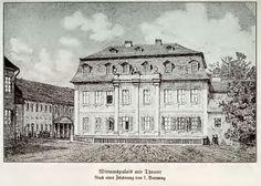Het Wittumspaleis in Weimar waar Anna Amalia woonde na de brand vaan haar Schloss