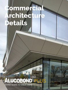 Undulating ALUCOBOND® Plus 'Fins' Reflect Water Movement, Reduce Glare in Energy-Efficient Riverfront Office Building Engineering Firms, Water Movement, Metal Panels, Commercial Architecture, Common Area, Workspaces, Energy Efficiency, Architecture Details, Glass Shades