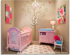 best baby girl nursery EVER!:)