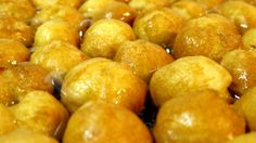 Buñuelos de Viento de la Pastelería Soles de Gredos, un producto artesanal elaborado en Hoyocasero.